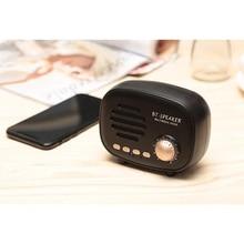 CLAITE Q108 Portable Mini Blutooth Speaker FM Radio Player with Microphone Handfree Wireless Music Speaker HiFi Gift