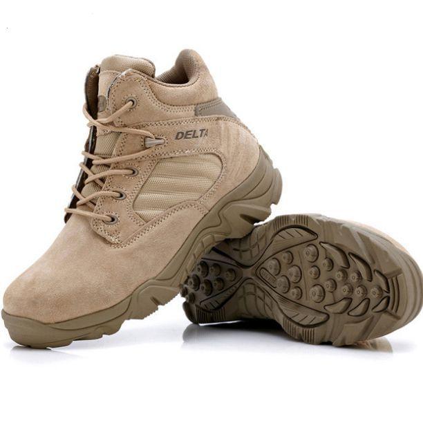 Livraison Noir Conception Delta Mâle Tactique Pour Sand Militaires noir Chaussures Top L'armée De Hommes À Swat Directe Lacets Bottes Low fwqpfr
