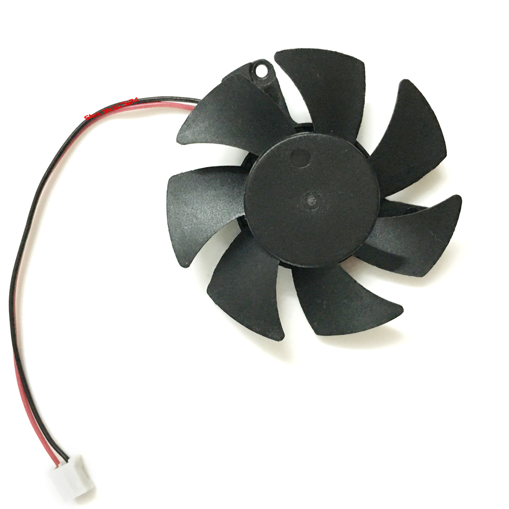 Diameter 45mm Computer Vedio Card VGA Cooler Fan For DATALAND R7 250 1GD5 R7-240 Graphic ...