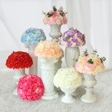 40cm Hydrangea Artificial Flowers Ball Bunch Fake Silk DIY Home Decor Faux Wedding Decoration Table Bouquet