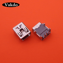 10 500pcs/lot Mini USB Charging Port jack Socket Power Charger port Connector dock Replacement For PS3 Controller Repair Part