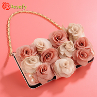 Mini Handbag Style Rhinestone Leather Mobile Phone Case Cover For IPhone X 6 6S 7 Plus