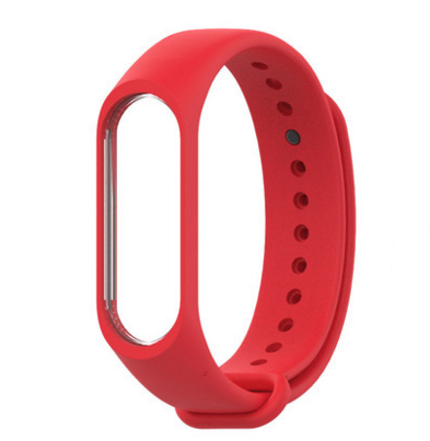 3 choices Xiaomi bracelet 1 wristbands sport replacement watchbands original silicone a51-hby1 life choices