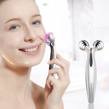Facial Roller with 70 degree V-shaped Lifting Device For Facial Toning and Lifting Body Slimming Skin 1682 2
