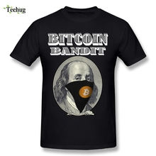 2018 Mens Bandit Bitcoin T Shirts New Arrival 100% Cotton T-Shirt Fashion Streetwear Short Sleeve
