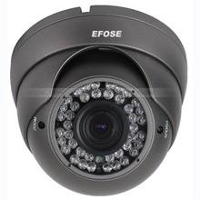 "32PCS 1000TVL 1/3"" HD CCD 2.8-12mm Lens 42 Leds Dome Vandal Proof IR ICR"