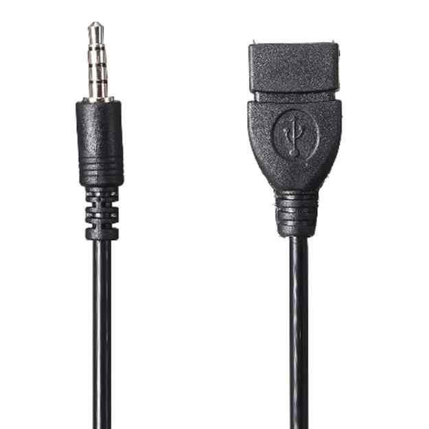 WUPP 3.5 مللي متر ذكر الصوت AUX جاك إلى USB 2.0 نوع A أنثى كابل مهايئ محول سفر اكسسوارات السيارات HDMI كابل #40