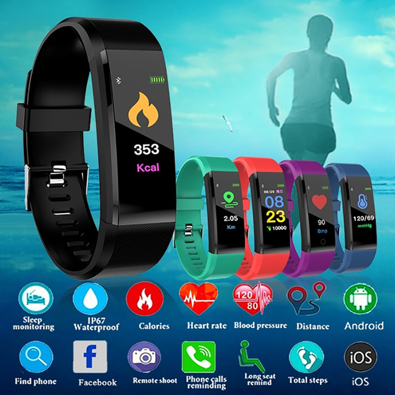 Elegante reloj de pulsera de hombres deporte Digital LED relojes de pulsera para hombres reloj hombre electrónica reloj de pulsera hora nuevo Smartwatch Hodinky
