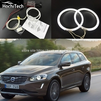 HochiTech WHITE 6000K CCFL Headlight Halo Angel Demon Eyes Kit Angel Eyes Light For Volvo S80