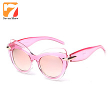 2017 Cat Eye Sunglasses Mujeres Diseñador de la Marca de La Vendimia Gafas de Sol Para Damas Retro Mujer Shades Steampunk Gafas De Sol Mujer