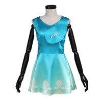Movie Trolls cosplay Costume Demon Princess Bobby Dress Cosplay Costume custom made