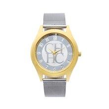 Relogio Feminino New Ultra Thin Dial Stainless Steel Mesh Straps Quartz Watches Mens Top Luxury Brand Clock Relogios Masculino