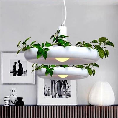Modern Hanging Gardens of Babylon pots potted Nordic Tom creative chandelier lighting / free shipping babylon длинное платье