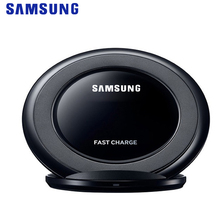 Samsung Original S7 Wireless Charger EP-NG930 Qi Standard Pad Stand For Galaxy Edge S8 S9 S10 Plus Note 9 iPhone 8 X