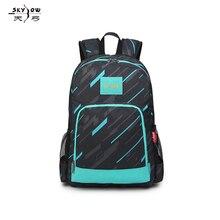 Creative schoolbags, shoulder-shoulder bags, mens and womens Korean version of ultra-light backpack, spine bag