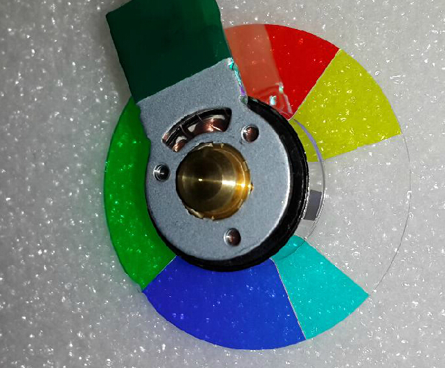 New For BenQ MP515 MS504 DLP Projector Color Wheel 6 segment 40mm brand new color wheel module fit for benq ms502 projector