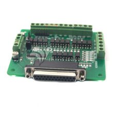CNC 6 Axis DB25 Breakout Board Interface Adapter MACH3 KCAM4 EMC2 + DB25 Cable CNC