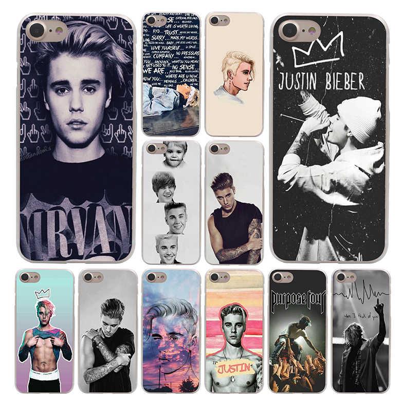 Justin Bieber Caso de Telefone para Apple iPhone 4 Lavaza 4S 5C 5S SE 6 6 S 7 8 Plus 10 X Xr Xs Max 7 6 Plus Plus
