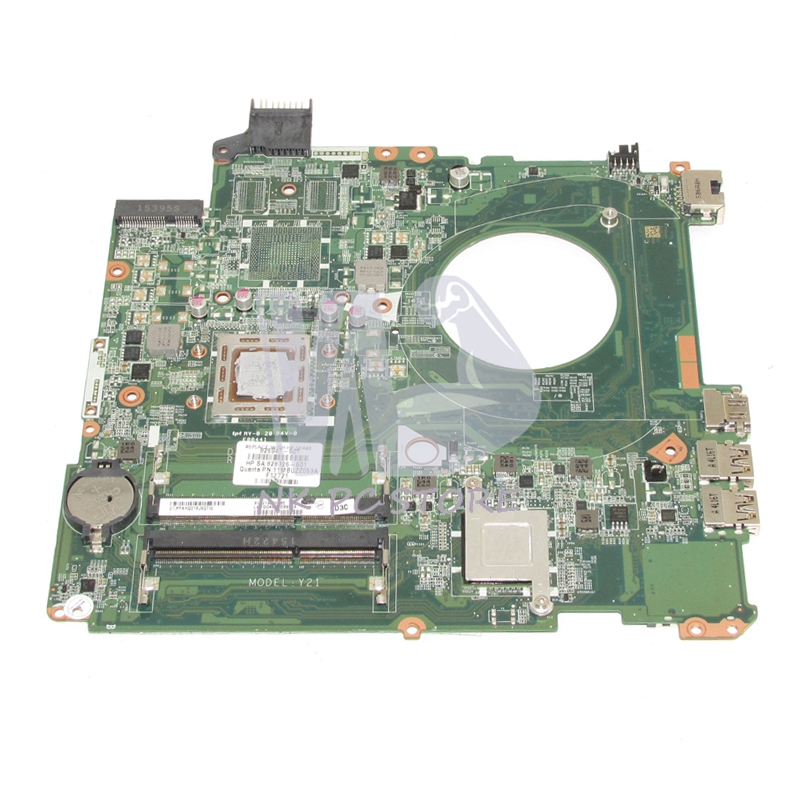 NOKOTION 828326-601 826947-601 826947-001 For HP Pavilion 15-P Laptop motherboard DAY21AMB6D0 15 inch A10-7300M CPU DDR3 nokotion original 809985 601 809985 001 laptop motherboard for hp pavilion 15 p a10 7300m cpu day21amb6d0 full tested works