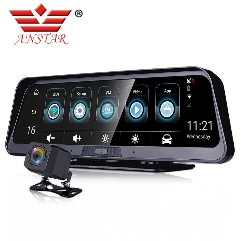 ANSTAR Car Dvr Mirror-Recorder Dash-Cam ADAS Not-Built-In-Battery Android 4G E98 GPS