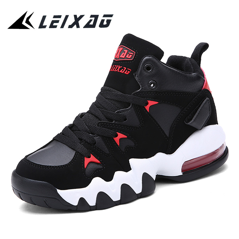 LEIXAG Unisex Basketball Shoes Outdoor Training Sneakers for Couples Air Cushion Basketball Sport Shoes Jordan Athletic