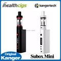 Kanger original subox mini starter kit 50 w kbox kangertech mini batería mod con subtanque mini atomizador 0.3ohm 5 unids