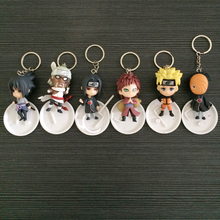 Full Set 12 Characters Naruto Action Figure Keychain