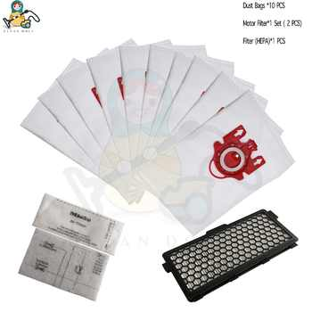 10x bags 1x HEPA filter for Miele vacuum cleaner 3D FJM dust bags S6000-S6999 S6 S4000-S4999 S4  Complete C1 9917730 spare part - DISCOUNT ITEM  0% OFF All Category