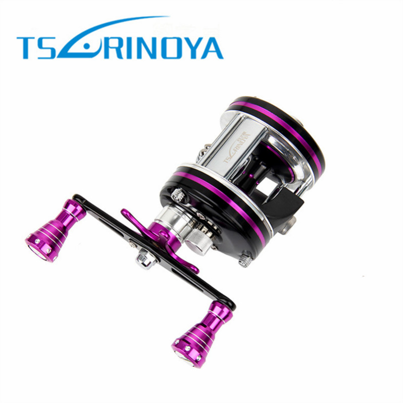 Tsurinoya Max Drag 7kg 6+1BB 5.3:1 Full Metal Drum Reels Right Hand Left Hand Bait Casting Fishing Reels China Reel rover drum saltwater fishing reel pesca 6 2 1 9 1bb baitcasting saltwater sea fishing reels bait casting surfcasting drum reel