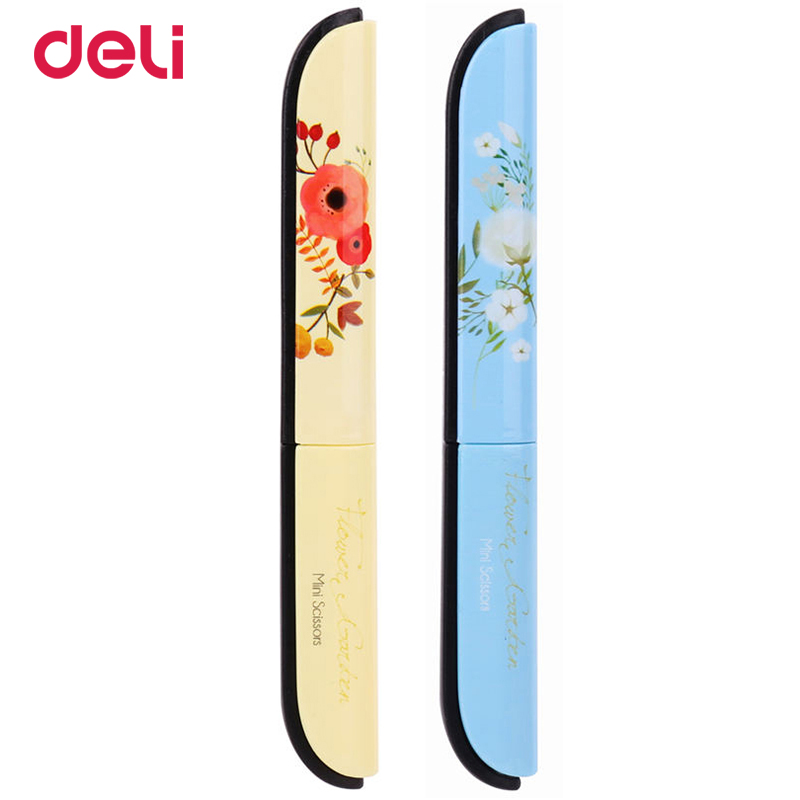 Deli Print 1 Pc Multipurpose Scissors Stainless Steel 118.4*13.8*10.4mm Office School Supply Student Paper Cutting Knife