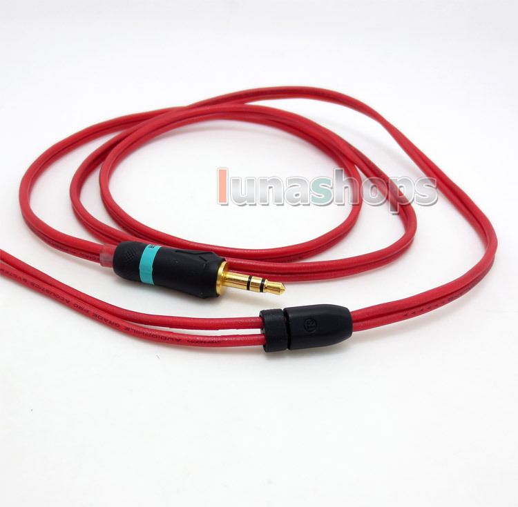 120cm Pure PCOCC Earphone Cable + PEP Insulated For Sennheiser HD414 HD420 HD425 HD430 HD440 HD442 HD450 II SL LN004890 pure pcocc earphone cable pep insulated for sennheiser momentum over on ear headset ln004851