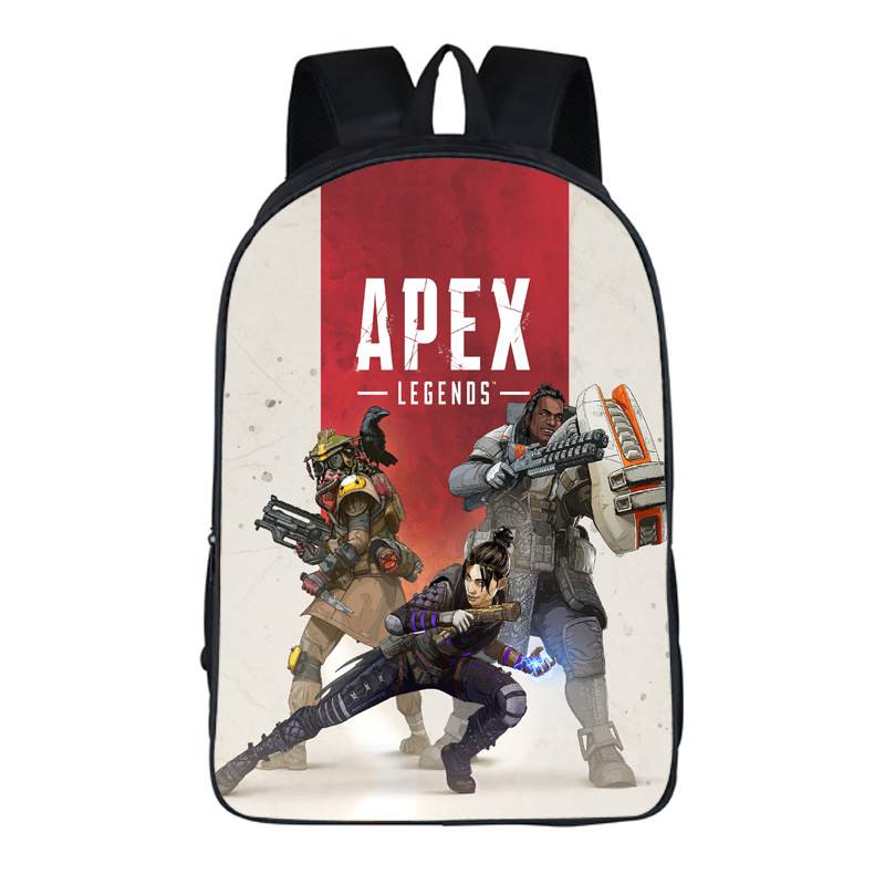 Hot Game Apex Legends Backpack Cosplay Shoulders Bag For Traveler Student Boys Girls School Bag Cosplay Costume Accessories