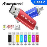 New OTG USB flash drive 4GB 8GB 16GB 32GB 64GB 128GB for Android /Tablet /PC USB 2.0 Pendrives high quality pen drive