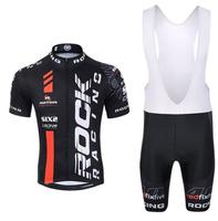 New Bike Jacket Rock Racing Cycling Jersey Bike Bib Short Cycling Clothing Bicycle Clothing Ropa Ciclismo