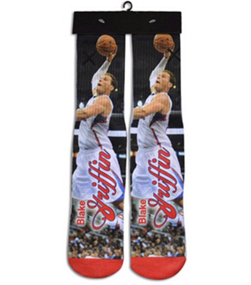High Socks Digital Printing Men Women long Socks funny character socks vibrant brand harajuku fashion brand 3D Sock 2018