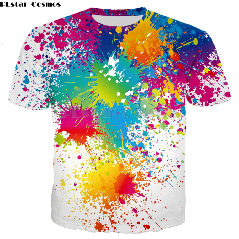 2902497dc Buy splatter paint shirt and get free shipping on AliExpress.com