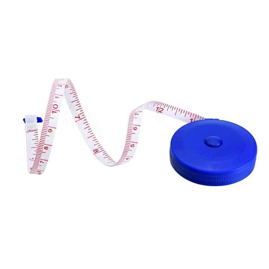 1 ชิ้นแบบพกพาเทปวัด 150 เซนติเมตรเทปพับเทปเย็บเสื้อผ้าอดอาหาร Tapeline ไม้บรรทัด Tiny เครื่องมือเซนติเมตร/นิ้วสุ่ม