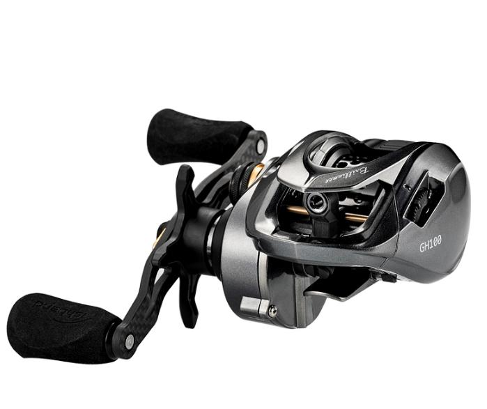 New Baitcasting Fishing Reel GH100 7 2 1 Magnetic Brake