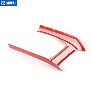 Image 5 - MOPAI ABS Car Interior Console Gear Shift Panel Decoration Cover Trim Stickers For Jeep Grand Cherokee 2014 Up Car Styling