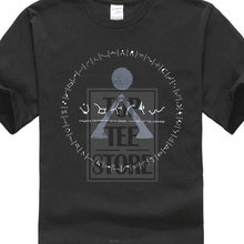 Hort Leeve O Neck T Shirt Stargate Inspired T Shirt S≫ Origin Earth Symbol ≫ Distressed Design