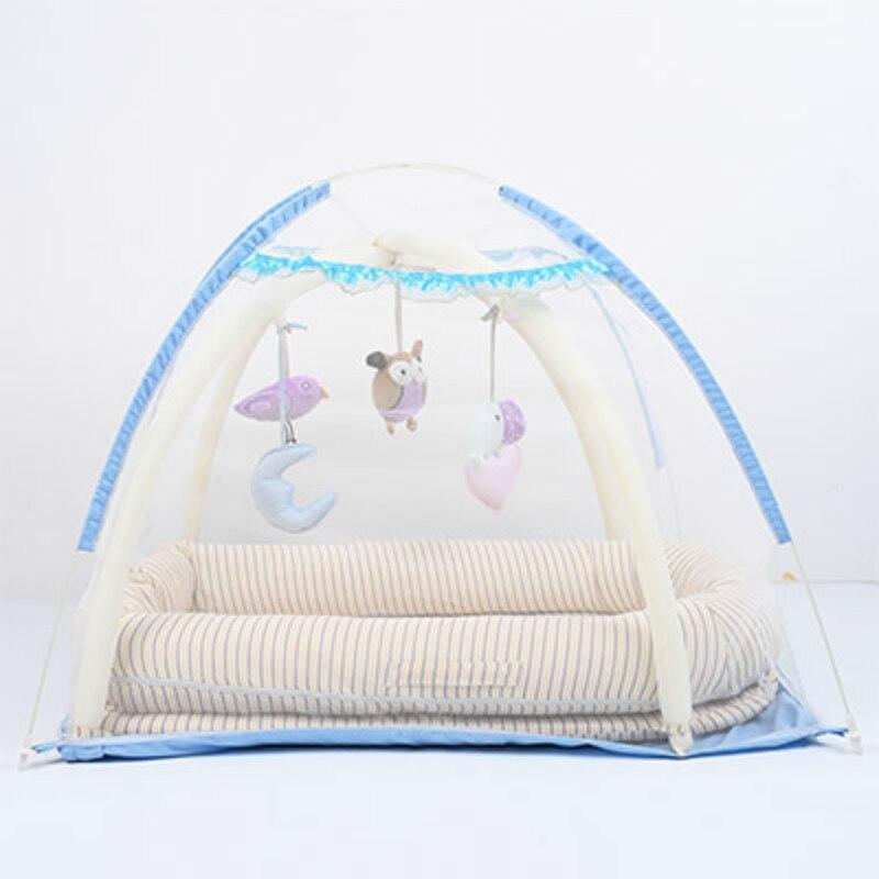 Портативный детская кроватка детская Путешествия складной детская кровать мешок Младенческая малышей Колыбель многофункциональная сумка...