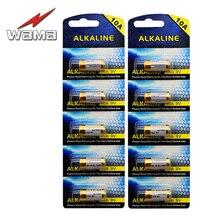 10pcs/2card 10A 9V L1022 Battery G10A,  GP10A, A10, L1016, E10A, WE10A, 10A .For Door Shutter Remote Control Batteries