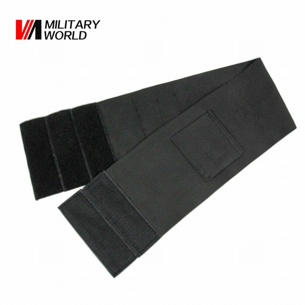 2 unids/pack Tactical Airsoft Cinturón Cintura Banda Bajo Cubierta Elástica Fund