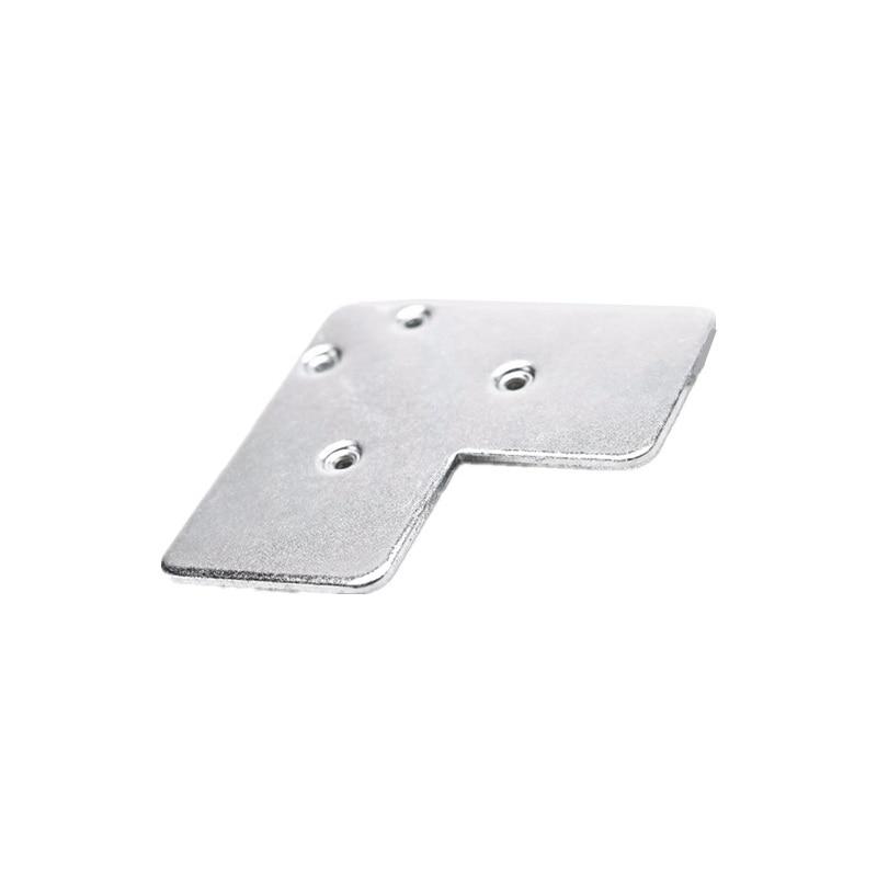 Iron Connector For Aluminum Cabinet Door Frames Aluminum Glass Door Profile