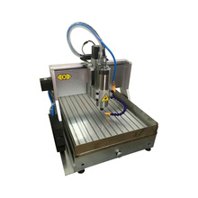 1500W mini cnc milling machine 6040 PCB engraving with water tank of 304 stainless steel and free cutter vise collet drilling russia tax free mini cnc engraving drilling and milling machine 3axis with cheap price