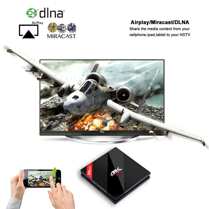 H96PRO+ android6.0 s912 3gb 32gb dlna