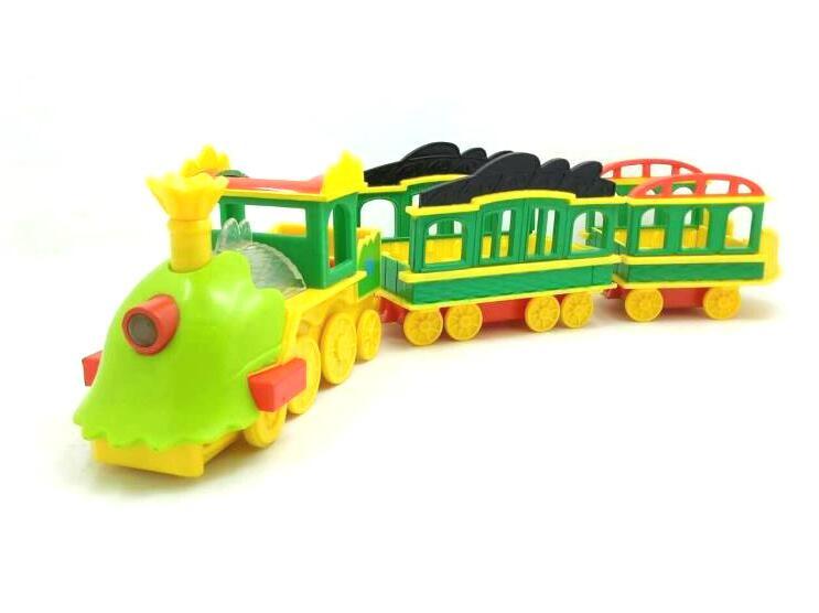 3pcs/lot Dinosaur Train Locomotive and Carriage Set of One ...