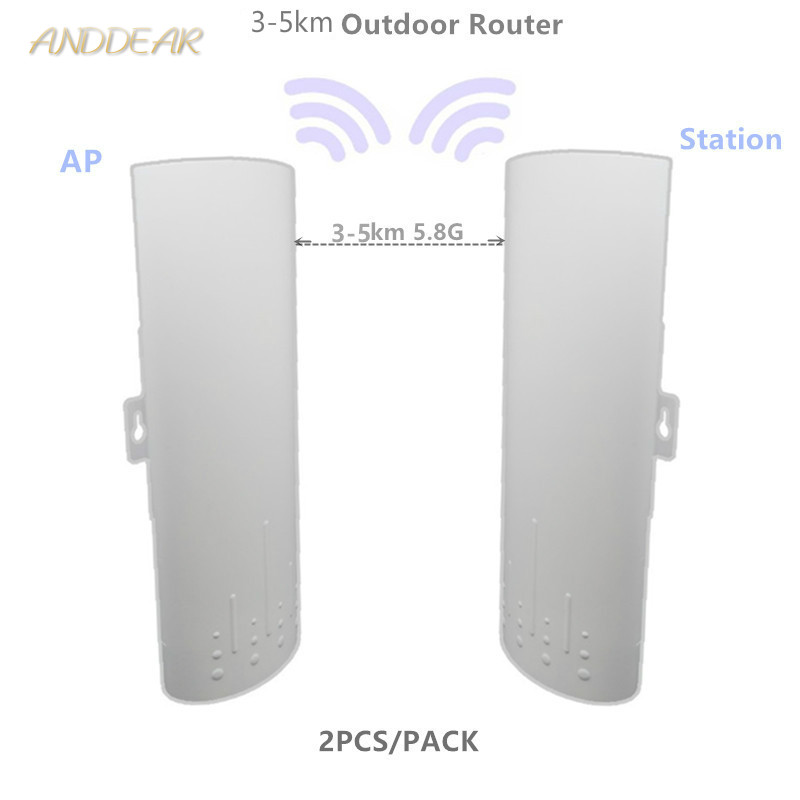 9344 9331 220 3-5km Chipset WIFI Router Repeater CPE Long Range300Mbps 5.8G Outdoor AP Router  AP Bridge Client Router Repeater