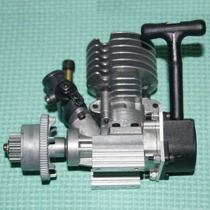 Small Fuel Two 2 Rush Engine Micro Methanol Engine Mini Ultra Small Car Model Ship Model DIY Power Generation Belt Clutch