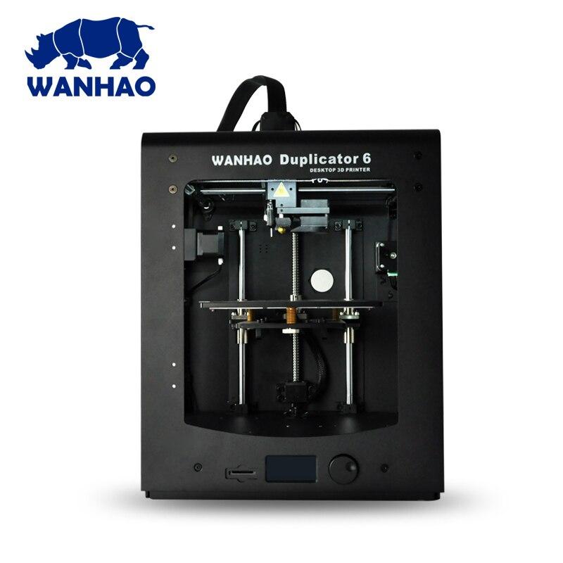 Plus récent 2018! 3D imprimante D6 Plus Wanhao Duplicateur 6 avec mise à niveau automatique, 300C.